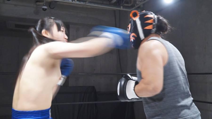 【HD】Beautiful Naked One-sided Boxing Vol.1(ビューティフル・ネイキッド・ワンサイド・ボクシング) サンプル画像02