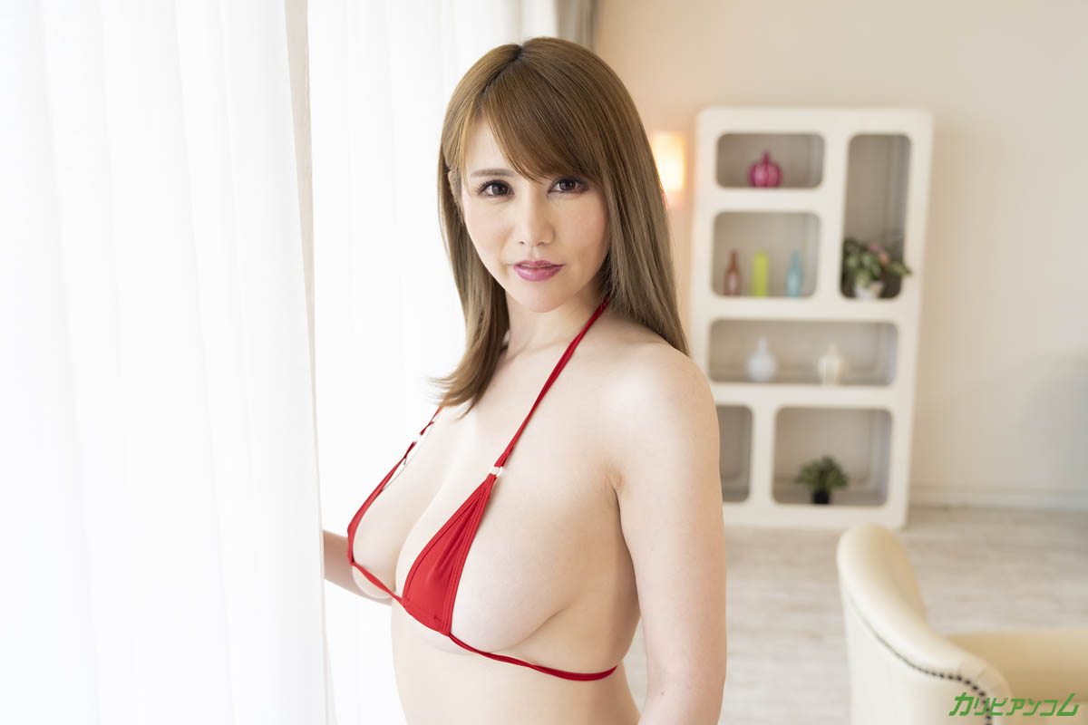 I like SEX while watching the men who want my body! Maki Koizumi