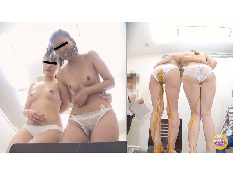 デッサンモデルの我慢しきれないうんこ漏らし2 サンプル画像6