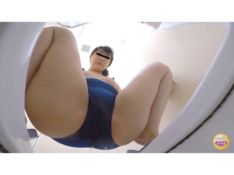 プール授業中なか抜け 女学生スク水ダッシュおしっこ漏らし サンプル画像9