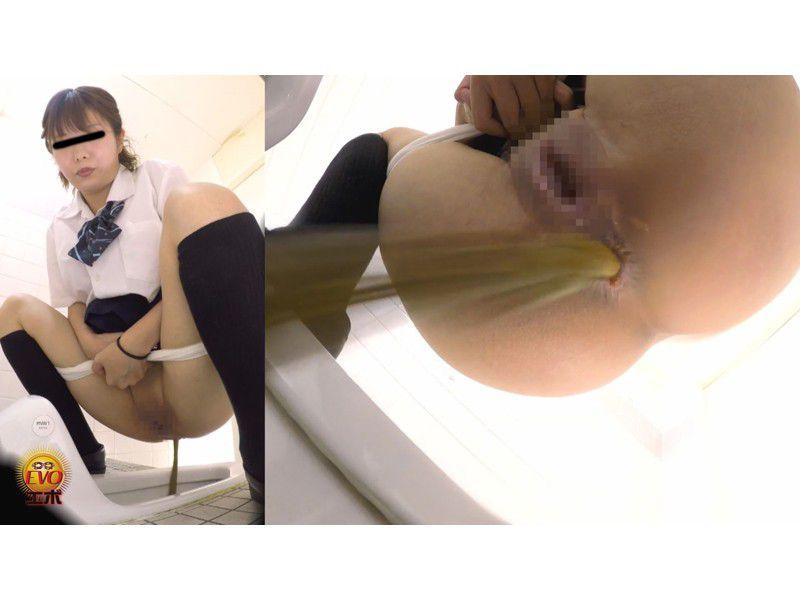 和式トイレ盗撮 女子校生のうんこ3 さまざまなアングルから眺めた若い大便の全て サンプル画像17