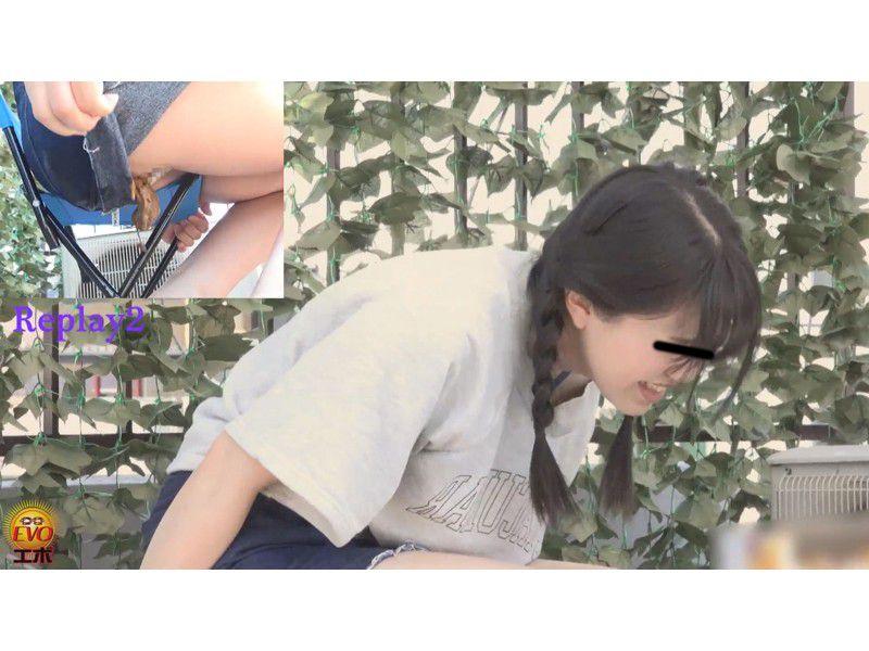盗撮 夏にお腹を下した 妹のピーピー下痢 サンプル画像11