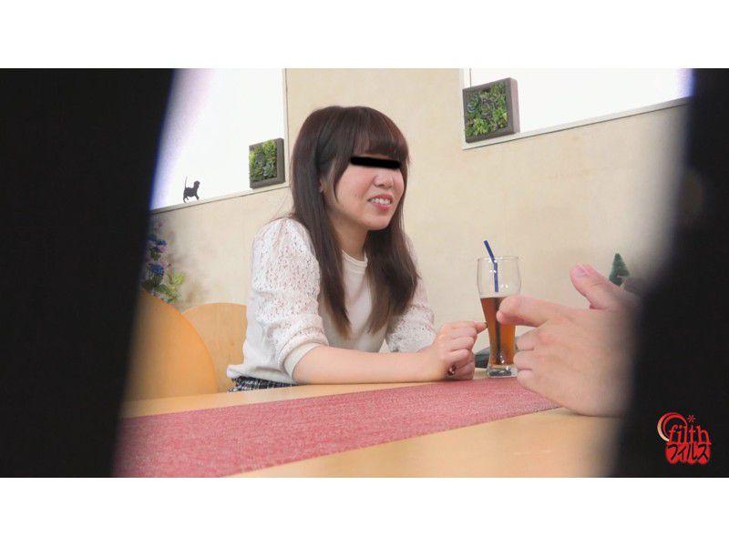 ぴーぴんぐカフェトイレ おまる座りでウンチする女たち サンプル画像1