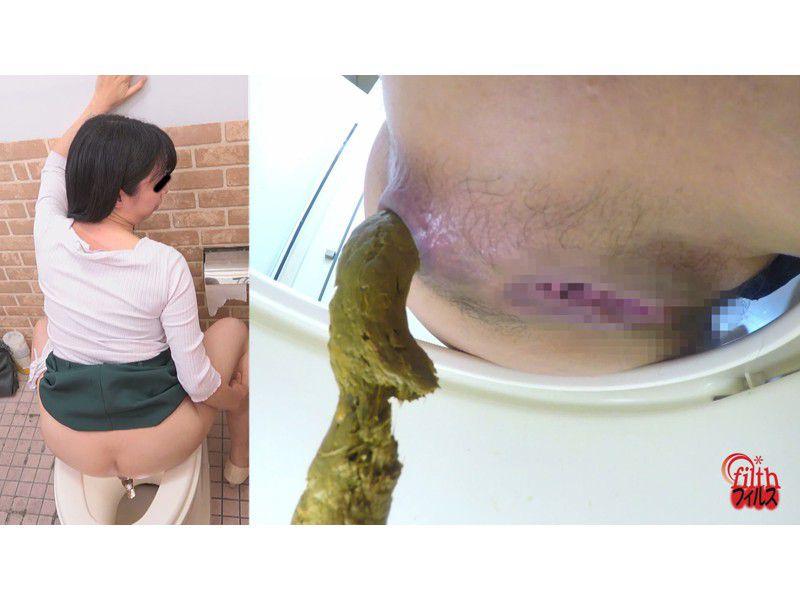 ぴーぴんぐカフェトイレ おまる座りでウンチする女たち サンプル画像3