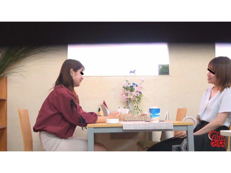 ぴーぴんぐカフェトイレ おまる座りでウンチする女たち サンプル画像6