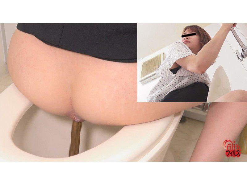 ぴーぴんぐカフェトイレ おまる座りでウンチする女たち サンプル画像7