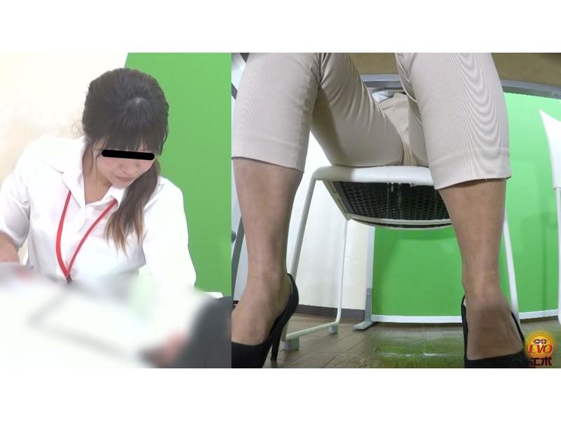 盗撮 意地悪な面接官の膀胱圧迫お漏らし! 面接会場の悲劇… サンプル画像13