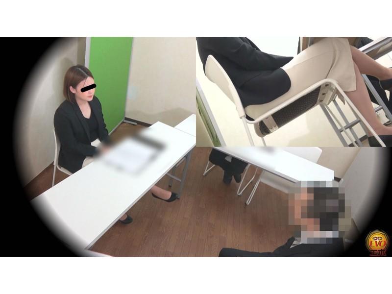 盗撮 意地悪な面接官の膀胱圧迫お漏らし! 面接会場の悲劇… サンプル画像17
