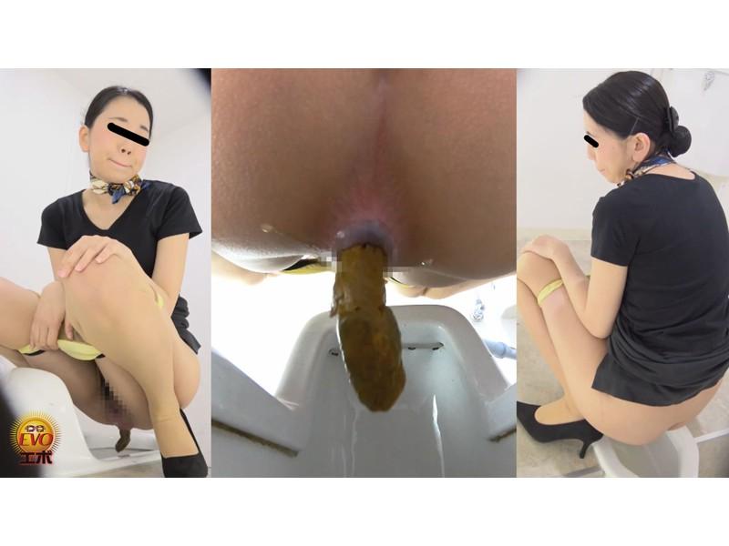盗覗5カメトイレ 美容部員うんこ サンプル画像19