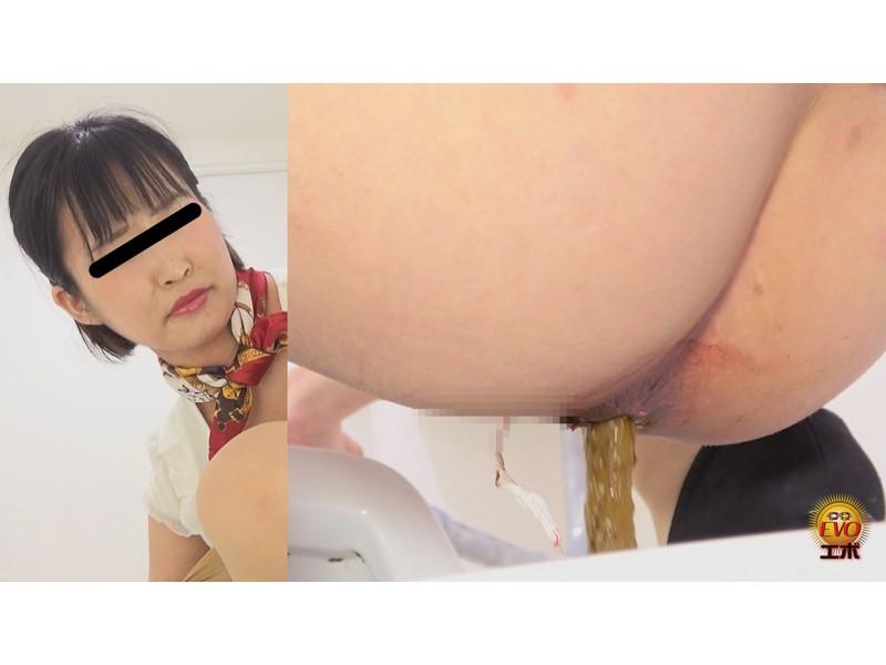 盗覗5カメトイレ 美容部員うんこ サンプル画像23