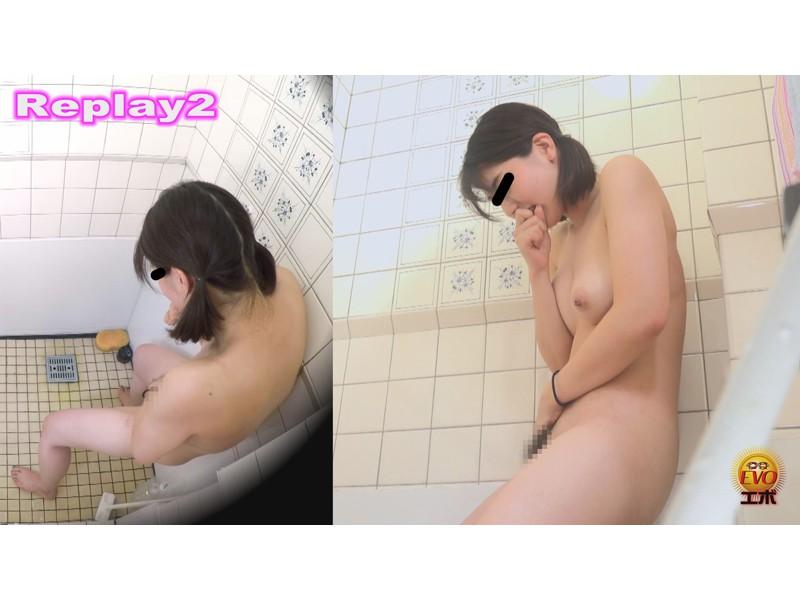 盗撮 部活シャワー室で尿を放出する少女達 サンプル画像15
