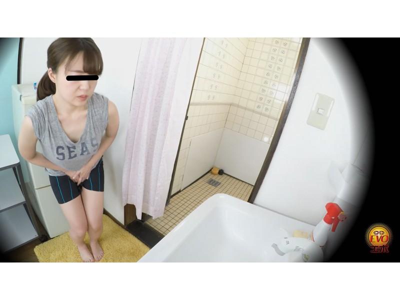 盗撮 部活シャワー室で尿を放出する少女達 サンプル画像5