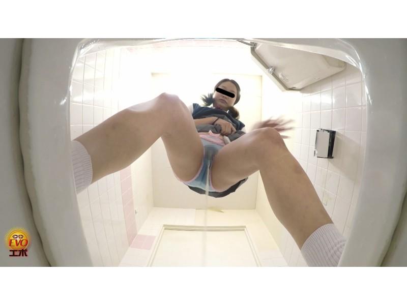 盗撮 ギリギリアウト!! 女子校生悲惨トイレお漏らし ~どうしよう...間に合わなかった~ サンプル画像11