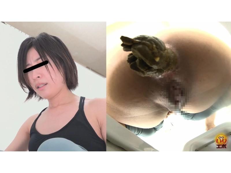 盗撮 ヨガウエア女子の健康うんこ サンプル画像20