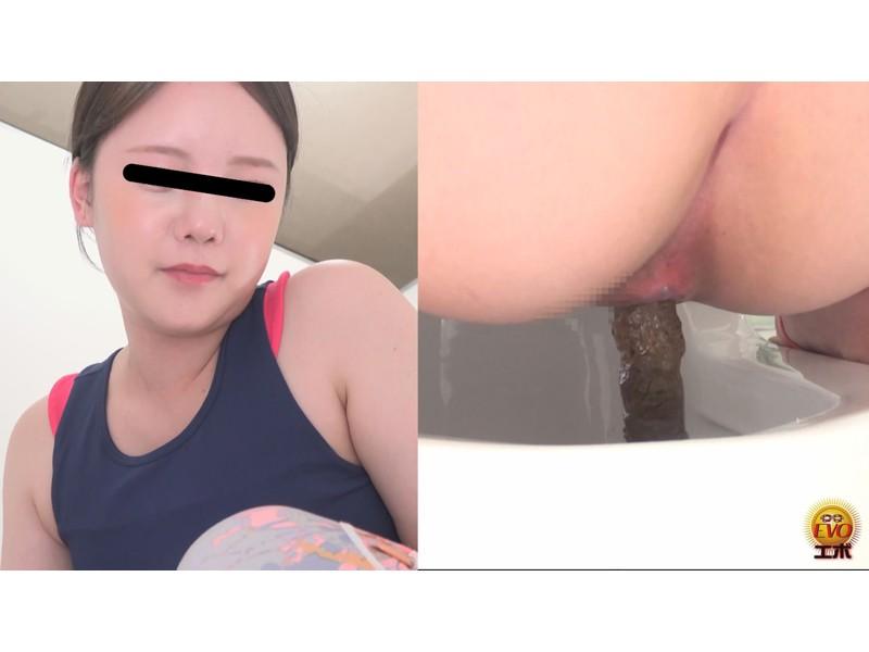 盗撮 ヨガウエア女子の健康うんこ サンプル画像7