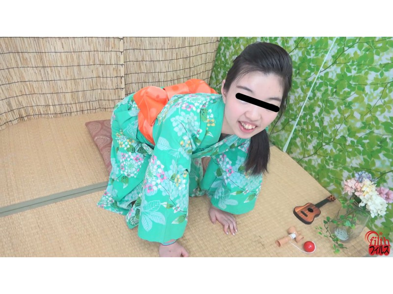 納涼 浴衣撮影会 止まらない羞恥おなら ~チョビ濡れ染みパンツ~ サンプル画像12