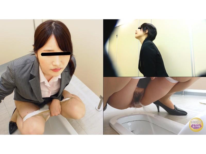 会社説明会 尿意我慢限界突破OL放尿 サンプル画像10
