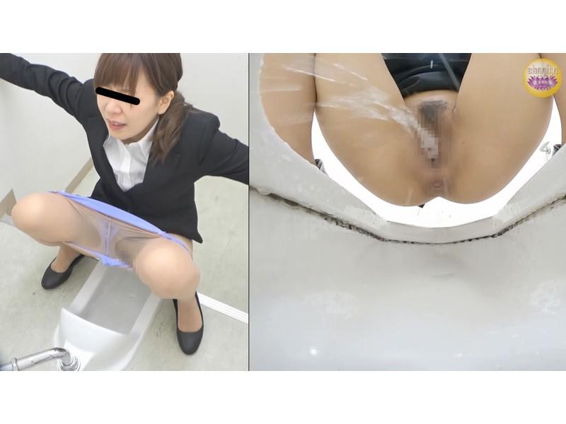 会社説明会 尿意我慢限界突破OL放尿 サンプル画像6