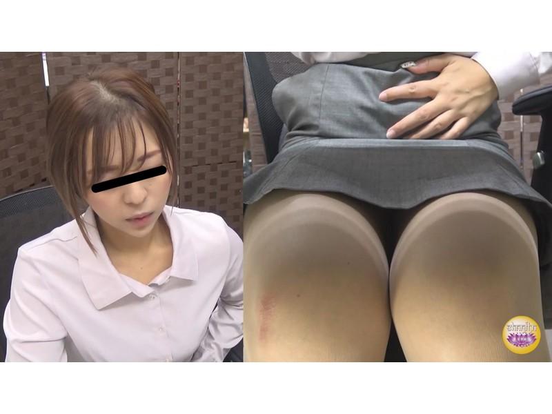 社内盗撮 便秘女の糞闘記録 硬い便と下剤軟便の日 サンプル画像11