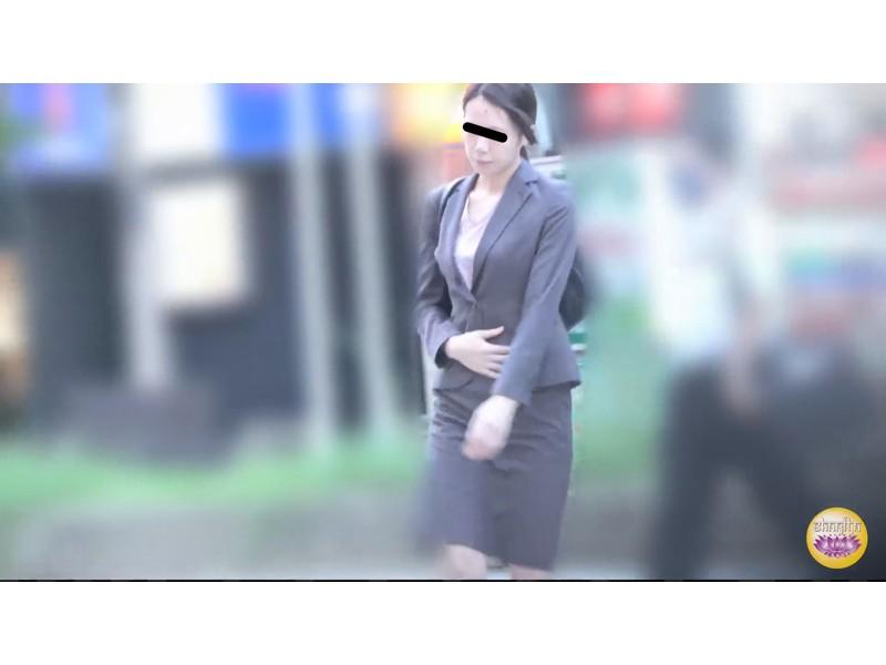 社内盗撮 便秘女の糞闘記録 硬い便と下剤軟便の日 サンプル画像9