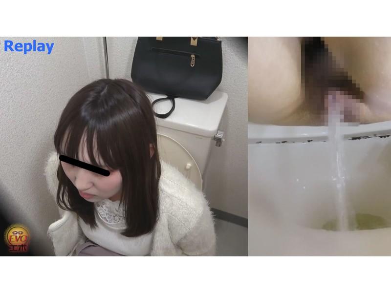 洋式トイレ盗撮 女の素顔放屁放尿 サンプル画像1
