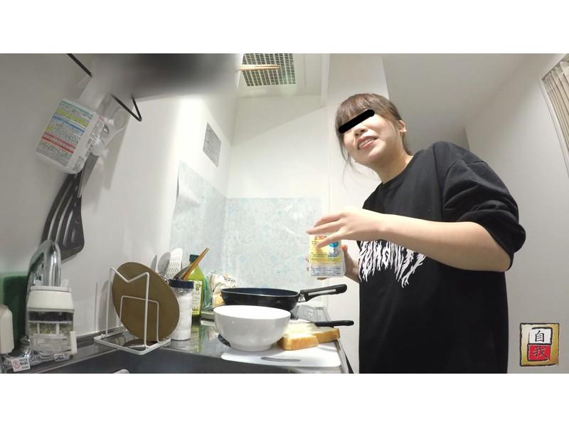 数日間に渡る密着撮影&自画撮り 野田遥香ちゃんの自宅うんこ サンプル画像14