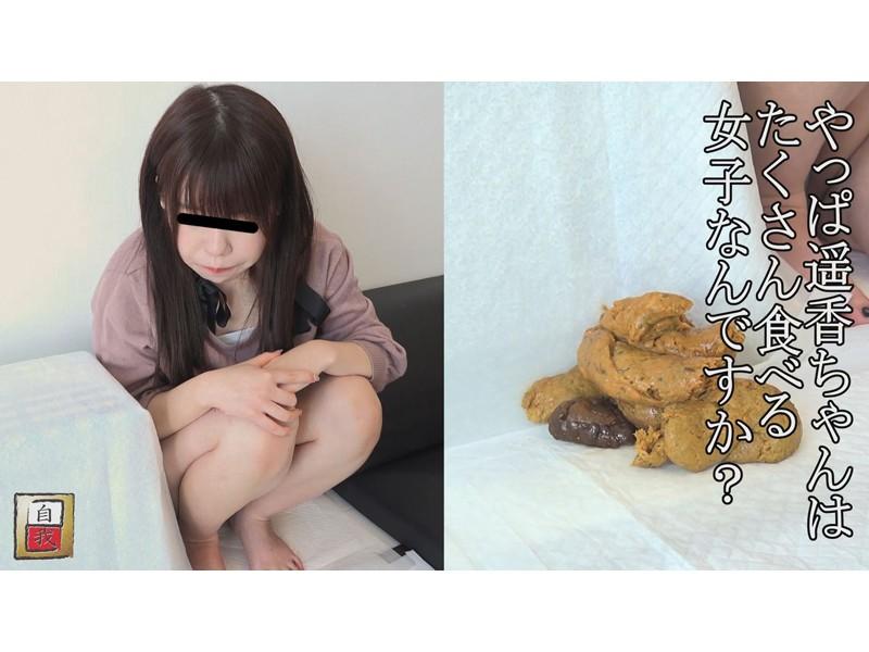 数日間に渡る密着撮影&自画撮り 野田遥香ちゃんの自宅うんこ サンプル画像2