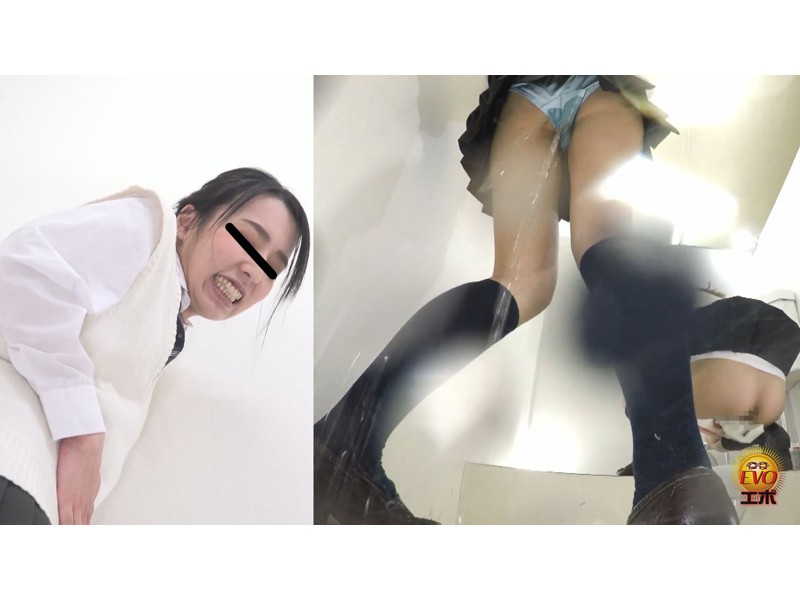 盗撮 けんかぼっぱつ!女子トイレ取り合いお漏らし サンプル画像28