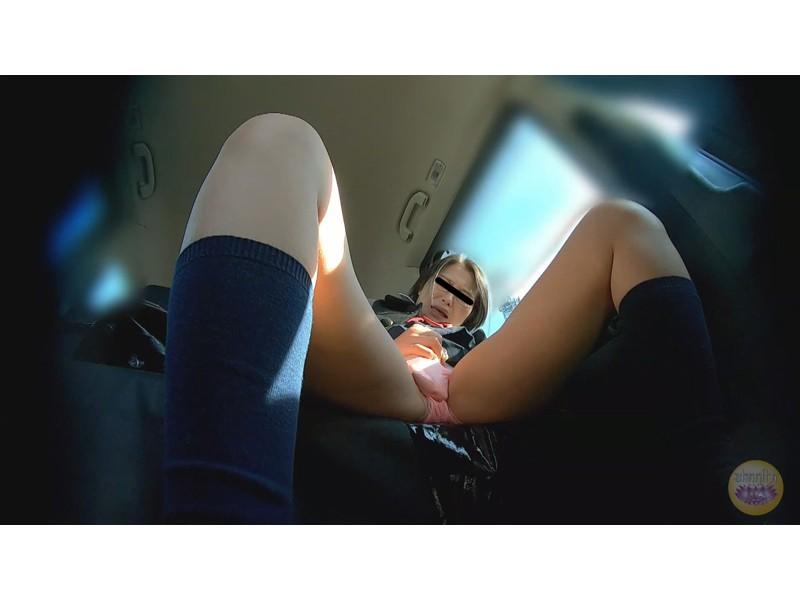 女学生 高速道路 車内お漏らし サンプル画像6