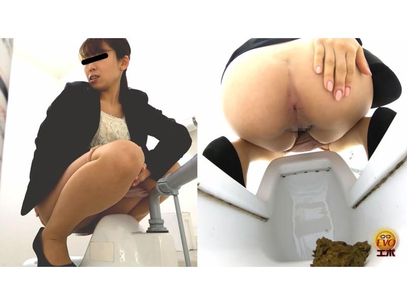 トイレ盗撮 OL羞恥音うんこ 3 サンプル画像28
