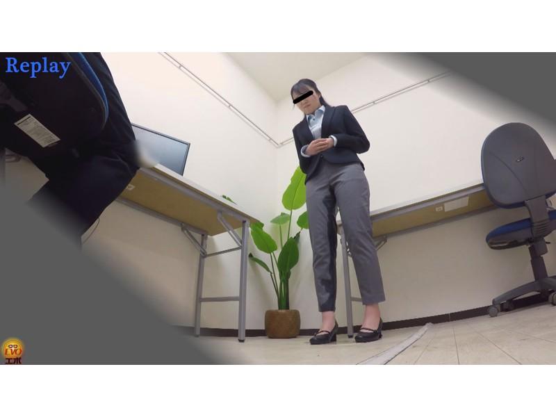 盗撮 パワハラ職場のOL醜態失禁 サンプル画像4