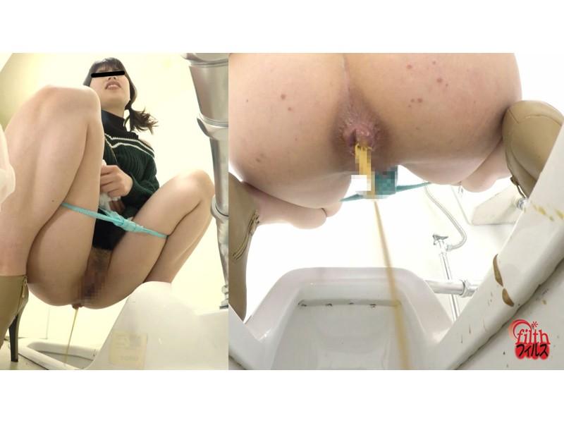 GALのピーピー事情 便器にぶちまけ下痢 サンプル画像11