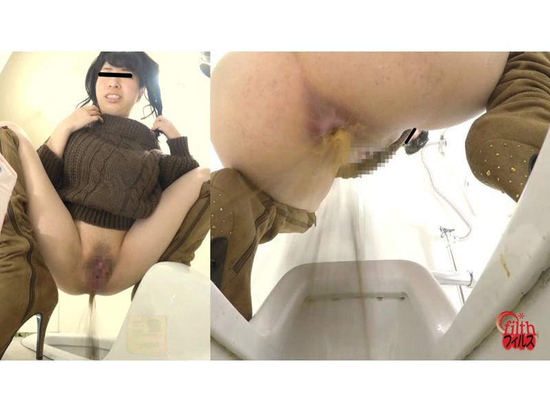 GALのピーピー事情 便器にぶちまけ下痢 サンプル画像13