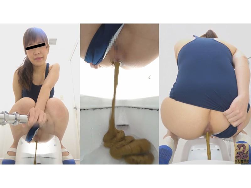 Front&Backダブルフルショット 制服美女の超放屁大便 サンプル画像29