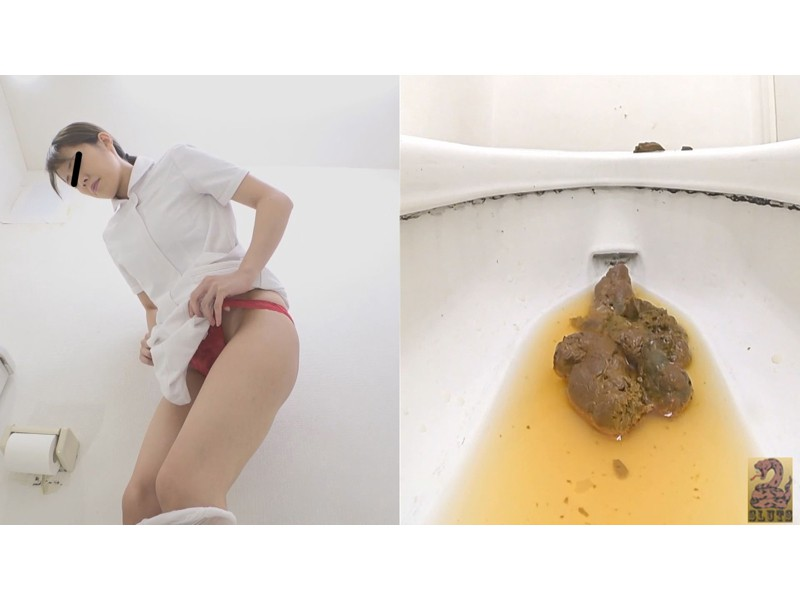 Front&Backダブルフルショット 制服美女の超放屁大便 サンプル画像3