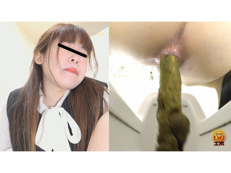 社内トイレ盗撮 便秘OL 踏ん張りおなら大便 サンプル画像6