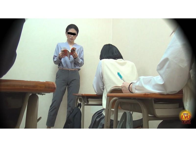トイレ盗撮 便秘女教師の苦悶×爽快 浣腸大便 サンプル画像5
