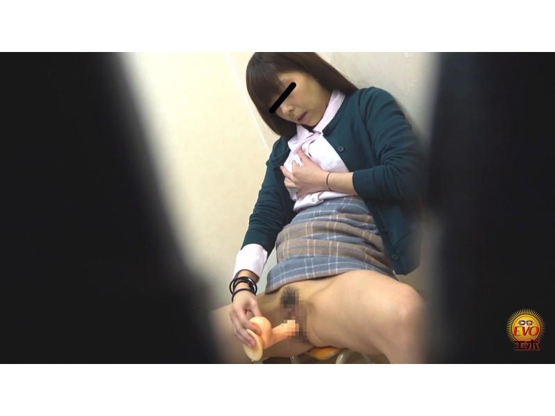 盗撮 マン汁滴る!快楽遊戯♪イキ焦らしディルドオナニー サンプル画像13