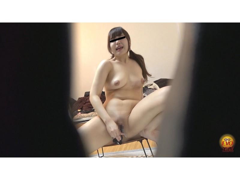 盗撮 マン汁滴る!快楽遊戯♪イキ焦らしディルドオナニー サンプル画像6