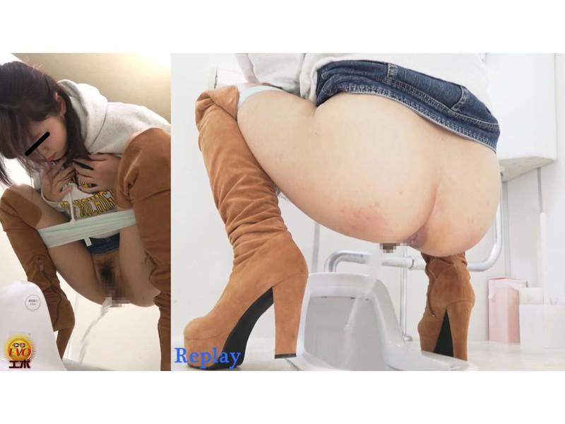 ルッキング放屁放尿 マンコとアナル排出の瞬間を目撃する女たち サンプル画像18