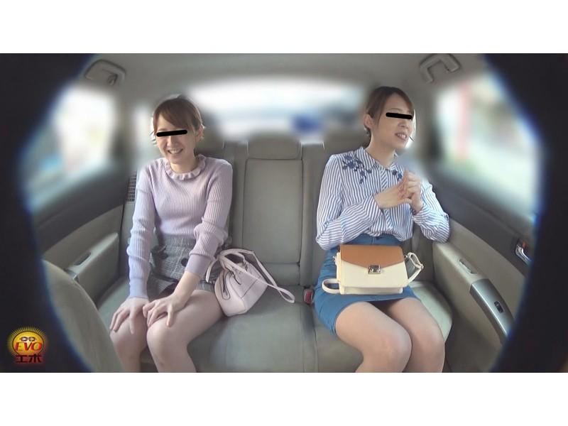 盗撮 女友達近距離失態 車内放尿&お漏らし サンプル画像25