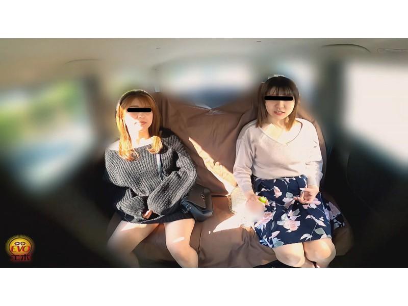 盗撮 女友達近距離失態 車内放尿&お漏らし サンプル画像9