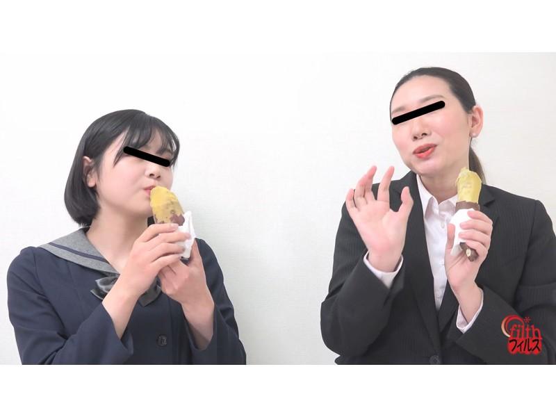 女子校生とOLのおならの数勝負!!3 がんばり過ぎちゃって汚物パラダイス サンプル画像1