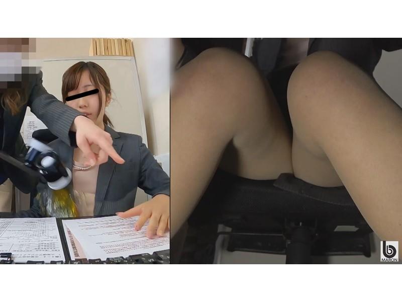 我慢限界OL 膣内即ハメトイレオナニー2 サンプル画像5