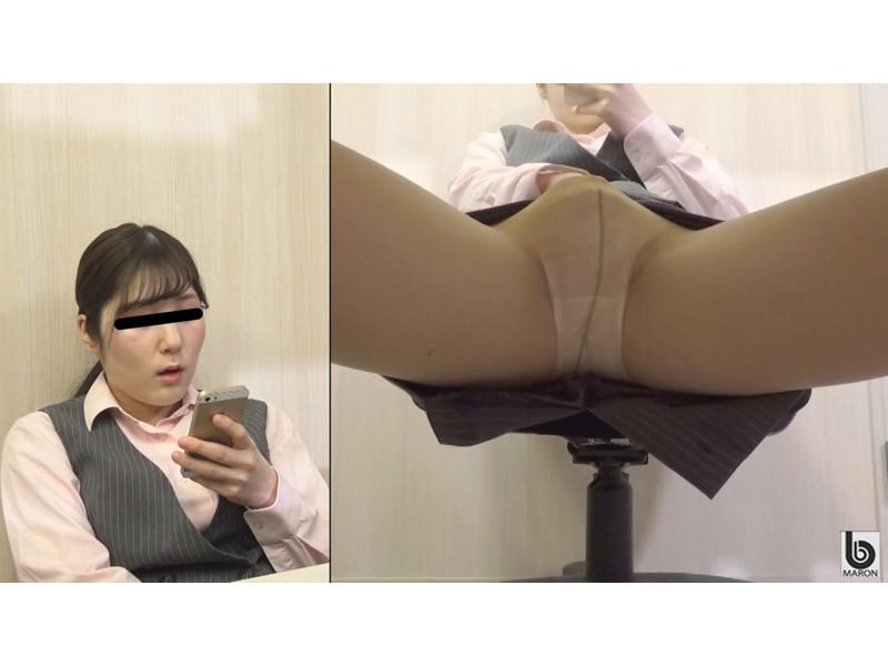 我慢限界OL 膣内即ハメトイレオナニー2 サンプル画像9