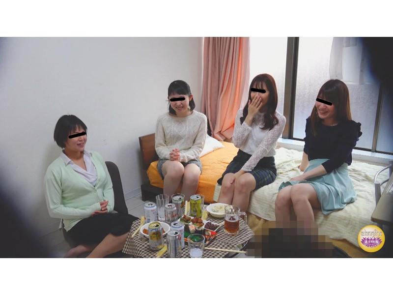 盗撮 ガールズ糞パーティー 3 サンプル画像9