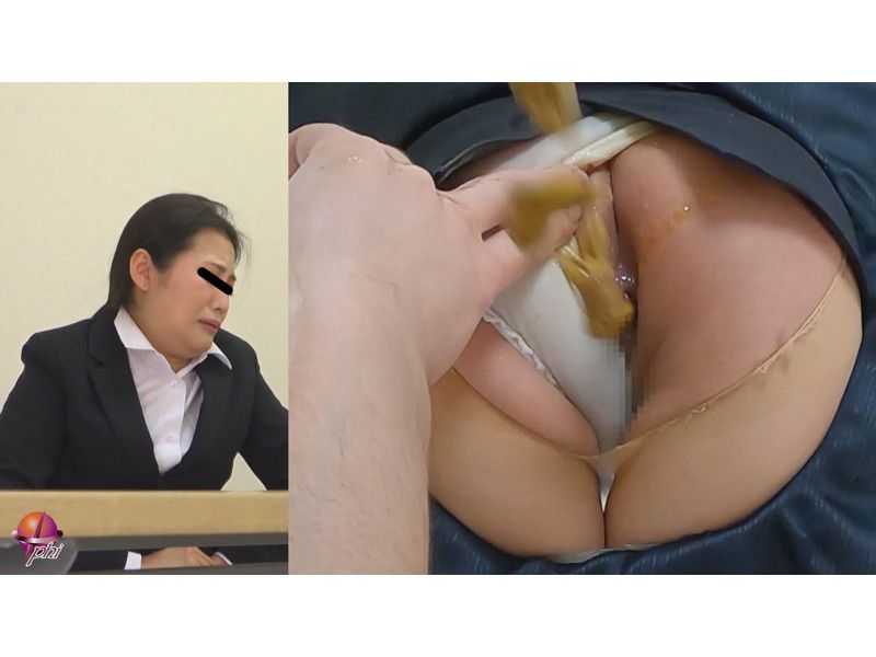 クソ漏らし羞恥面接痴姦 3 ~浣腸された汚れゆく麗しき秘穴~ サンプル画像11