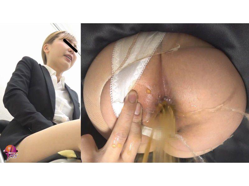 クソ漏らし羞恥面接痴姦 3 ~浣腸された汚れゆく麗しき秘穴~ サンプル画像8