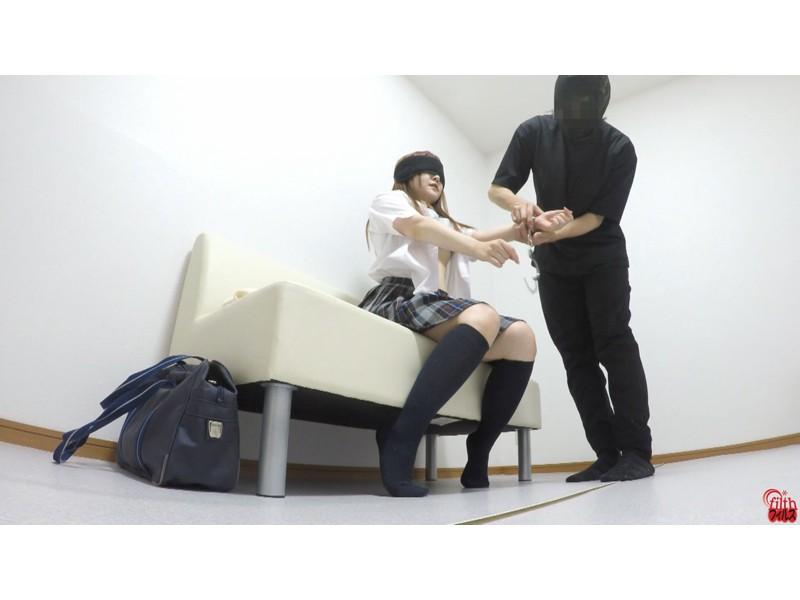 女子校生裏バイト 羞恥プレイと拘束浣腸排泄 サンプル画像23