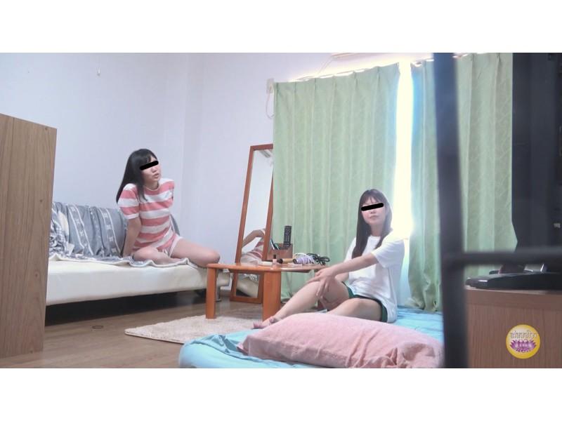女子寮全裸恥ずかしダッシュおしっこ サンプル画像5